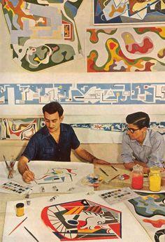 Brazilian designer Roberto Burle Marx