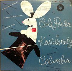 Andre Kostelanetz, Music of Cole Porter. Label: ML 2014 (1946) Design: Alex Steinweiss.