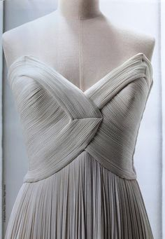 Madame Gres. She was my favourite designer as she combined the most exquisite tailoring and structure with beautiful materials. Rather like doing a superb interior....