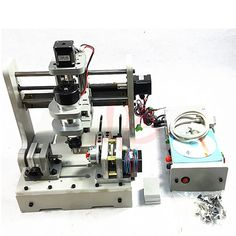 481.41$  Buy now - http://ali7so.worldwells.pw/go.php?t=32742116440 - DIY Mini 4axis CNC machine Drilling and Milling Machine 300w wood router, no tax to Russia  481.41$
