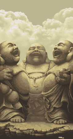 ✯ Laughing Buddhas - Submitted by Creattica ✯