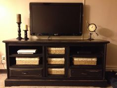 dressers turned into tv stands | Hello Internet! Its currently 1:42 in the morning, and I have class ...
