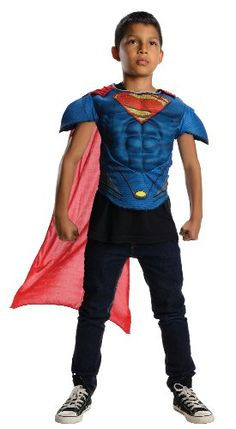 Superman Childs Muscle Chest Costume Top