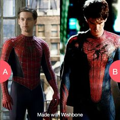 Tobey Maguire Or Andrew Garfield Click Here To Vote Getwishboneapp Amazing SpidermanThe