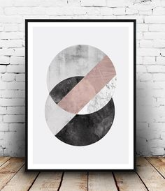 Geometric art, Abstract watercolor, Marble print, Scandinavian design, black and white, home decor, wall art, minimalist  poster, abstract
