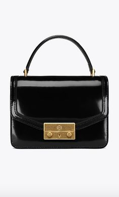 61a9d78eee7 Tory Burch Mini To-Handle Satchel Casual Friday Outfit
