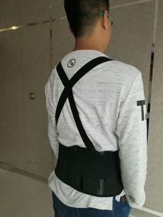 Black Belt Back Support Waist Brace Lift Heavy Weight Comfort