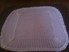3ply shawl. The 1st of knits for Hector - July 10th 2014 x