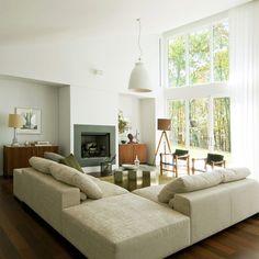 70 moderne, innovative Luxus Interieur Ideen fürs Wohnzimmer - residenz weiß moderne luxus Interieur Ideen