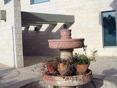Maale Adumim, Israel - Gardens, Moshe Castel Art Museum, Klei Shir neighborhood (כלי שיר) Art Museum, Israel, Fountain, Ale, The Neighbourhood, Gardens, Paintings, Landscape, Outdoor Decor