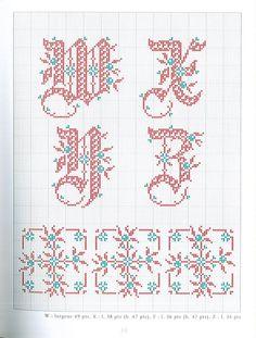 Gallery.ru / Фото #17 - belles lettres au point de croix - moimeme1