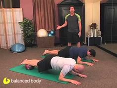 Pilates Enthusiasts : S2E13 : Advanced Work on the Ball - YouTube