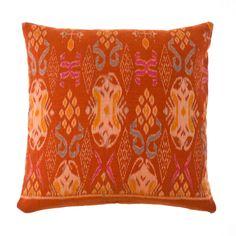 Indonesian Ikat Pillow ~ world effect