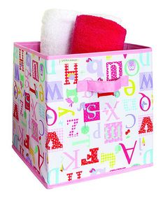 Another great find on #zulily! Owlphabet Storage Cube by Laura Ashley Home #zulilyfinds