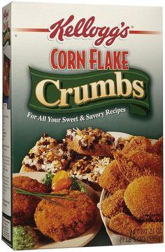 Kellogg's Corn Flake Crumbs, 21 oz Boxes ** Visit the image link more ...