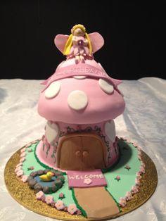 5th Birthday Toadstool cake.