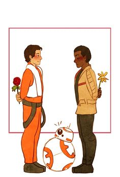 If You Don't Believe Finn and Poe Are the Ultimate Star Wars Couple, Look at This