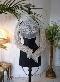 antique-net-lace-blouse 1905