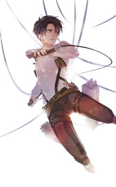 Levi Ackerman _Shingeki no Kyojin / Attack on Titan Anime Plus, Anime W, Fanarts Anime, Anime Characters, Eren E Levi, Attack On Titan Levi, Armin, Mikasa, Levi Ackerman