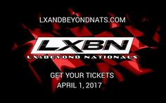 #LXBN10 Tickets will go on sale April 1st at 9AM Eastern. EARLY registration has its privileges. Want your car judged in the Car Show or you just be able to park with friends Tickets will start at Only $20, Race Entry tickets start at $100. All tickets include car, driver, and 1 adult passenger. Limited number of tickets sold at these prices after which the price will increase.   www.lxandbeyondnats.com 1/4 MILE MODERN MOPAR DRAG RACING, VENDORS, ALL MOPAR JUDGED AND NON-JUDGED CAR SHOW