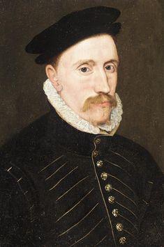 Date: c. 1560s? Title: Portrait of a Gentleman - probably Sir Thomas Gresham. Artist: Circle of Steven van der Meulen (fl. 1543–1568)