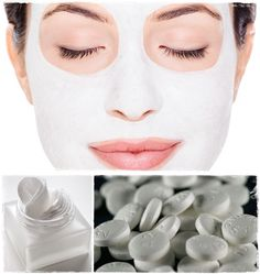 DIY facial mask for acne and softer skin with The Amazing Aspirin Mask