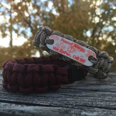 Our waterproof medical alert bracelets are extremely popular for all ages. Your paracord ID alert bracelet can be worn anytime - anywhere. Swimming,