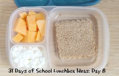 31 Days of School Lunchbox Ideas - Day 8 ~ including an awesome tip to make the sandwiches ahead of time and freeze WITHOUT getting soggy! | 5DollarDinners.com