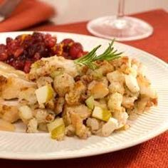 Fall is in the air. Enjoy this delicious stuffing at your next family dinner or holiday meal.