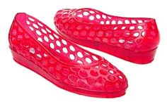 Jelly Shoes #80's Style