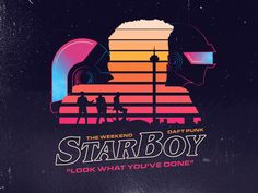 Starboy designed by Percy Batalier. Connect with them on Dribbble; Neon Aesthetic, Aesthetic Design, 80s Design, Graphic Design, Neon Colour Palette, Skate Art, Art Friend, Retro Waves, Retro Futuristic