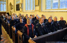 RNLI Cromer attends Remembrance service at Cromer Church.
