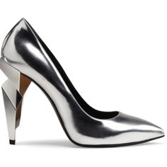 Fendi | 8 Metallic Shoes to Update Your Spring Wardrobe Now | Visual Therapy | cynthia reccord