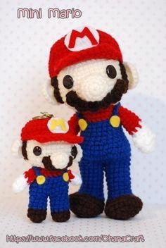 My Super mario and Mini Mario