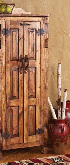 San Pedro Reclaimed Wood Cabinet