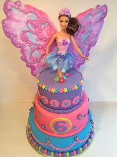 barbie cakes Barbie Fairytopia Specialty Birthday Cake Palermos