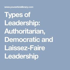 12 Best Leadership Styles images in 2018 | Business