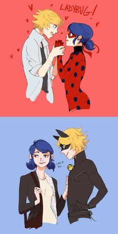 Adrien gushing over Ladybug, Chat failing to impress Marinette!