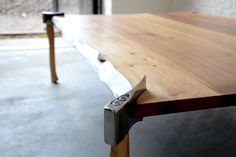 UK based studio Duffy London created this unique Woodsman Axe Table that will make you feel like you are in ...
