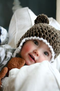 Love this hat for baby boy