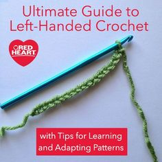 Beginner Left Handed Crochet Patterns : Getting Started Left Handed Hooks, The ojays and Left ...