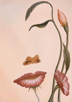Mouth of Flower - Octavio Ocampo  this looks so natural like i could come across it on a walk