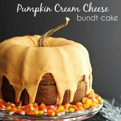 Pumpkin Bundy Cake