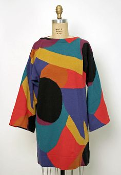 Perry Ellis sweater design at the Metropolitan Museum of Art