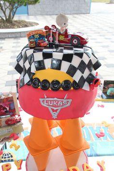 "Photo 1 of 33: Disney Cars / Birthday ""Cruising Cars Celebration!"" | Catch My Party"