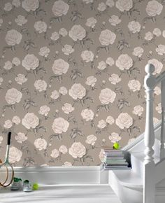 Countess: Taupe Wallpaper