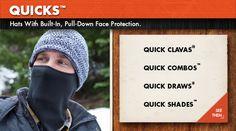 Las QUICKS de SEIRUS el mejor accesorio para el frío del mercado. Compralos en Deportes de el Corte Inglés.