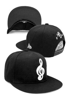 Musical note snapback cap - Running Man Cap   ULOVELIFE