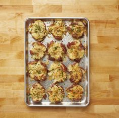 You've Got to Try Crash Hot Potatoesthepioneerwoman Potato Side Dishes, Vegetable Side Dishes, Veggie Side, Crash Hot Potatoes, Baked Potato Recipes, Vegetable Recipes, Cooking Recipes, Vegetarian Recipes, Healthy Recipes