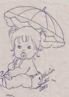 Rosartes: riscos de meninos e meninas Baby Embroidery, Hand Embroidery Designs, Embroidery Patterns, Machine Embroidery, Quilt Patterns, Art Drawings Sketches, Cartoon Drawings, Colouring Pages, Coloring Books